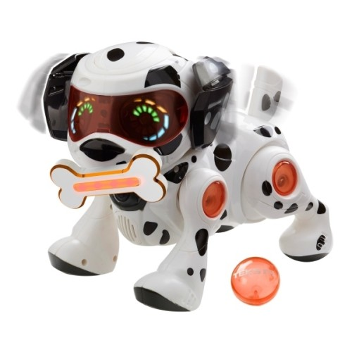Robots rotaļlieta suns Teksta